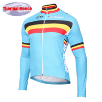The national team Bicycle Race Cycling Jersey Winter Thermal Fleece Cycling Jacket Bike Mtb Wear Maillot Ciclismo invierno