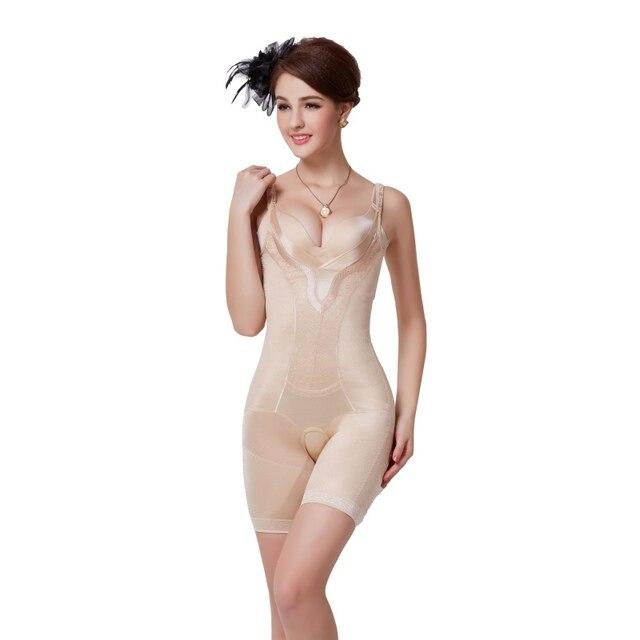 Женщины тонкая талия Shapewear животика управления короткие леггинсы бесшовные формирователь тела