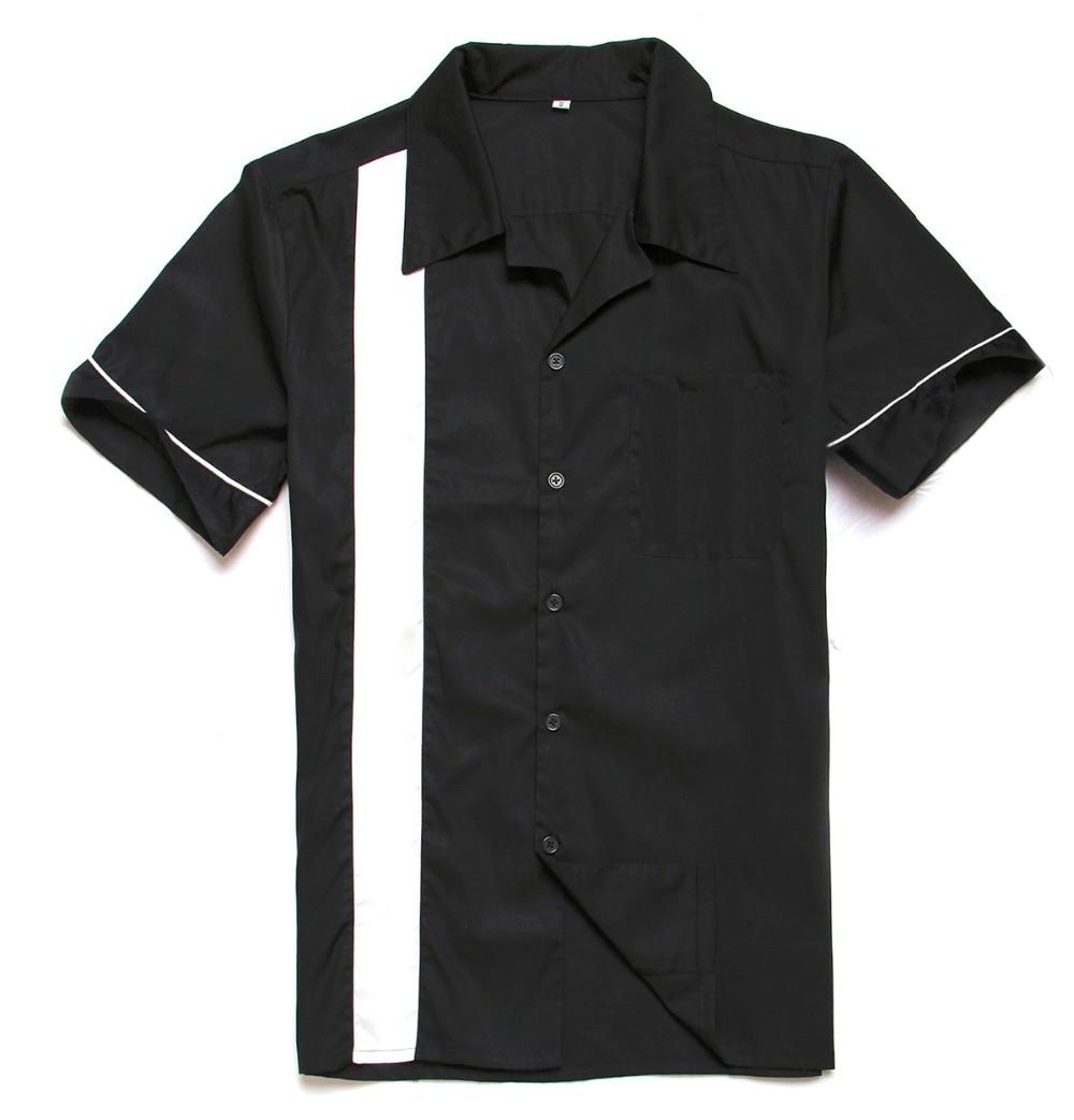 망 검정색 흰색 셔츠 짧은 소매 플러스 크기 힙합 패션 펑크 스타일 캐주얼 셔츠 브랜드 남성 단색 넓은 스트라이프 Streetwear