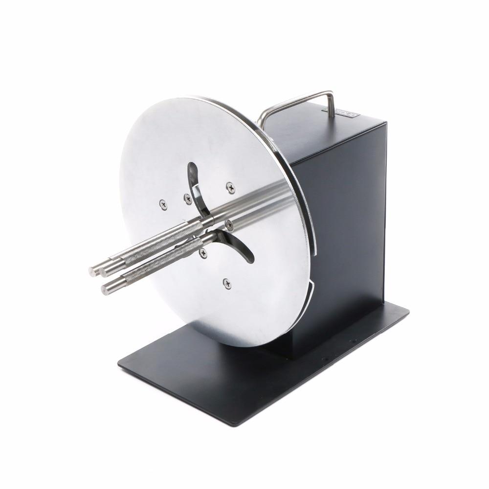 Automatic Label Rewinder Rewinding Machine w/ Adjustable Core Holder 1- 4 110V/220V automatic digital label tags rewinder barcode rewinding machines speed adjustable 220v