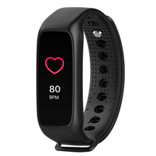 LCD Bluetooth Smart Band Cardio Dynamic Heart Rate Pedometer Fitness Tracker Smart Bracelet IP67 Waterproof