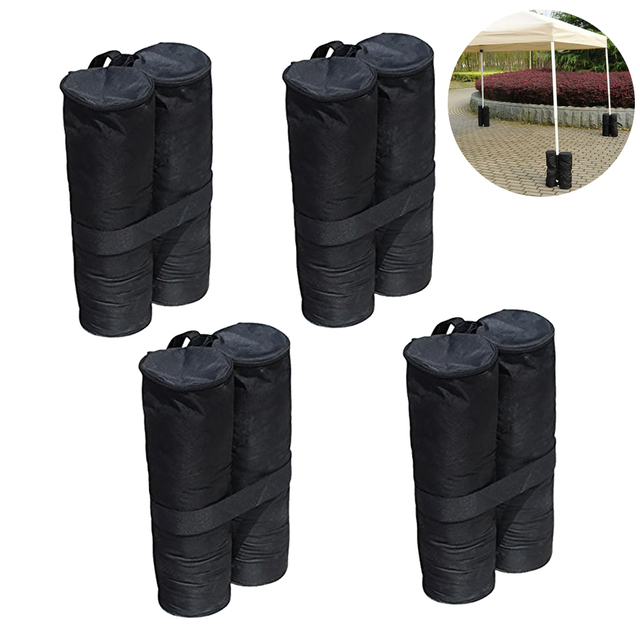 4pcs Canopy Weight Bags Heavy Duty Weights Sand For Instant Legs Outdoor Sun Shelter