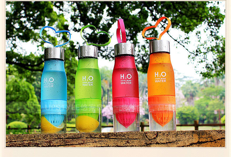 Xmas 650ml Infuser Water Bottle 19