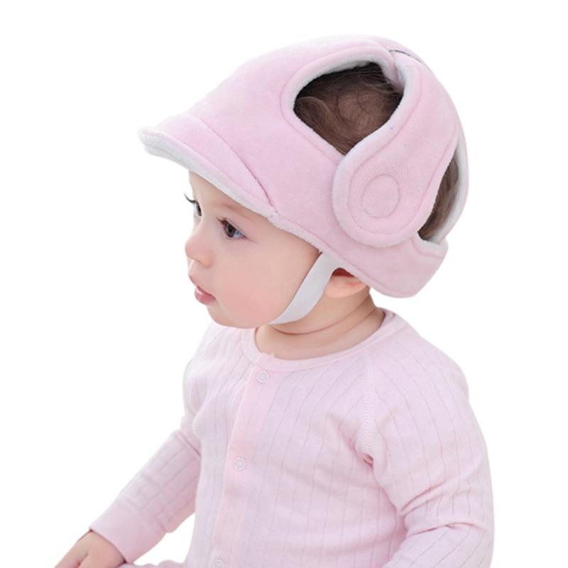 Защитная шапка для головы ребенка преддошкольного возраста, ударопрочный защитный мягкий шлем
