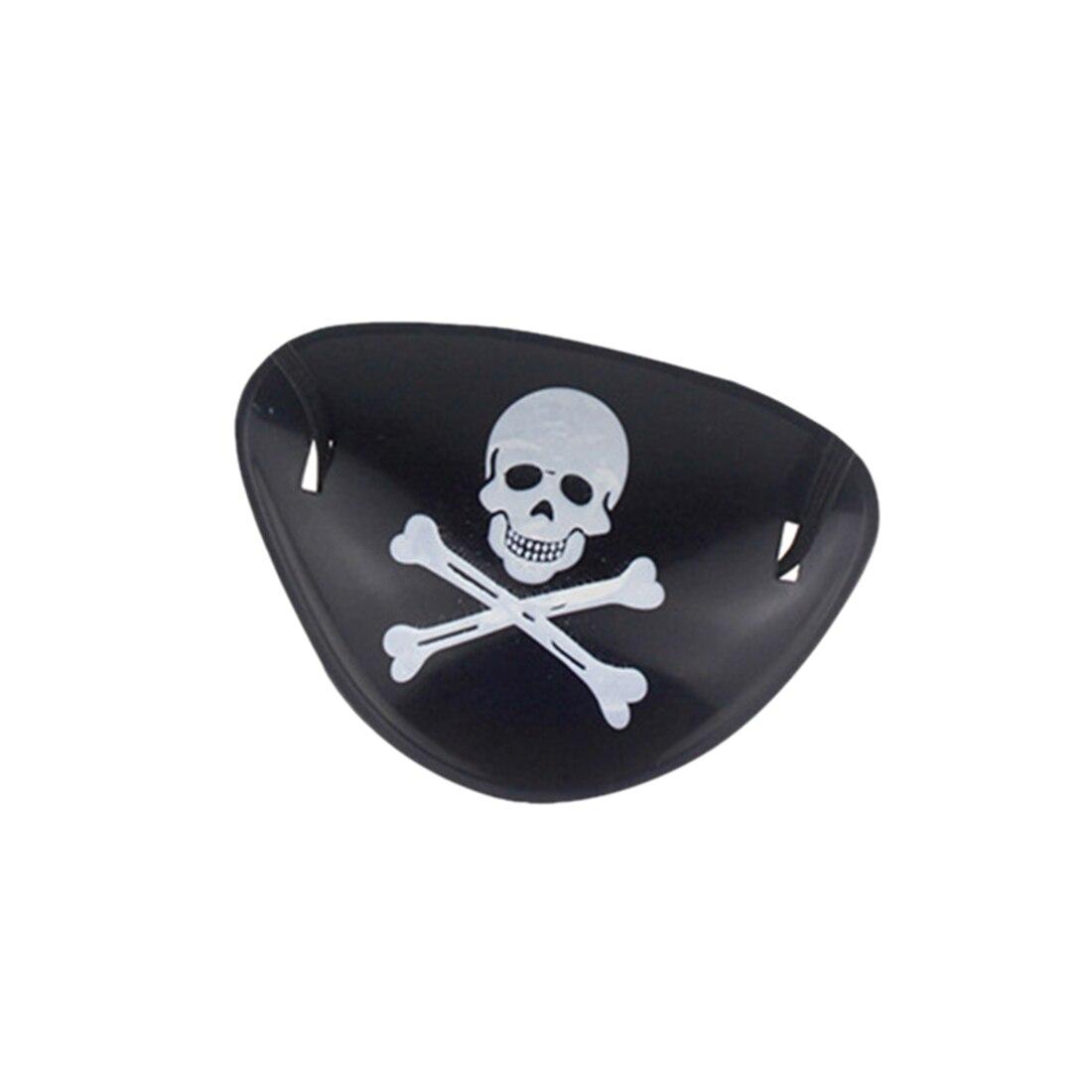 3шт дети Kid'патч пластиковый Пират с пиратом поставщика игрушек с черепом Хэллоуин одеваются реквизит мини-телескоп, компас