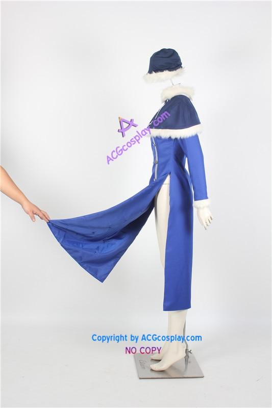 Cosplay הכחולה גרסה זנב