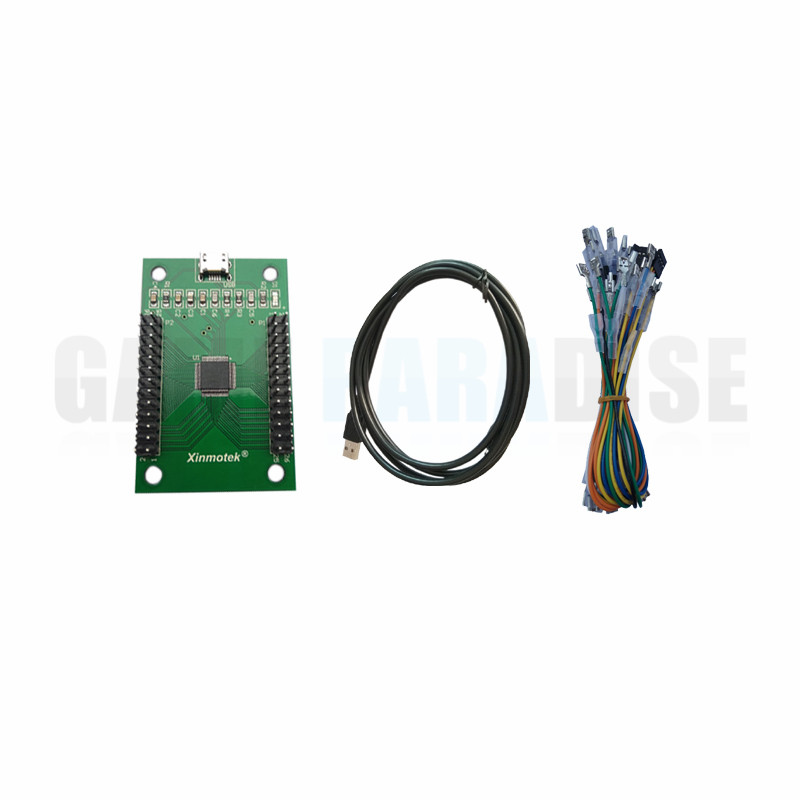 Dual Player Controller with LED USB To Jamma Arcade Game Controller