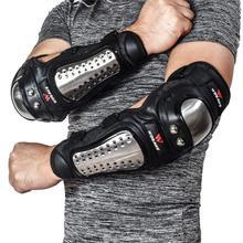 Wosawe mtb防護服オートバイ肘プロテクター鎧ダウンヒル保護ギアガードモトクロススノーボード膝保護