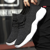 Mesh Air Mesh Holes Couple Shoes Male Jogger Outdoor Men Slippers Light Rubber Soles Lace up Walking Run Vulcanize Shoes Men