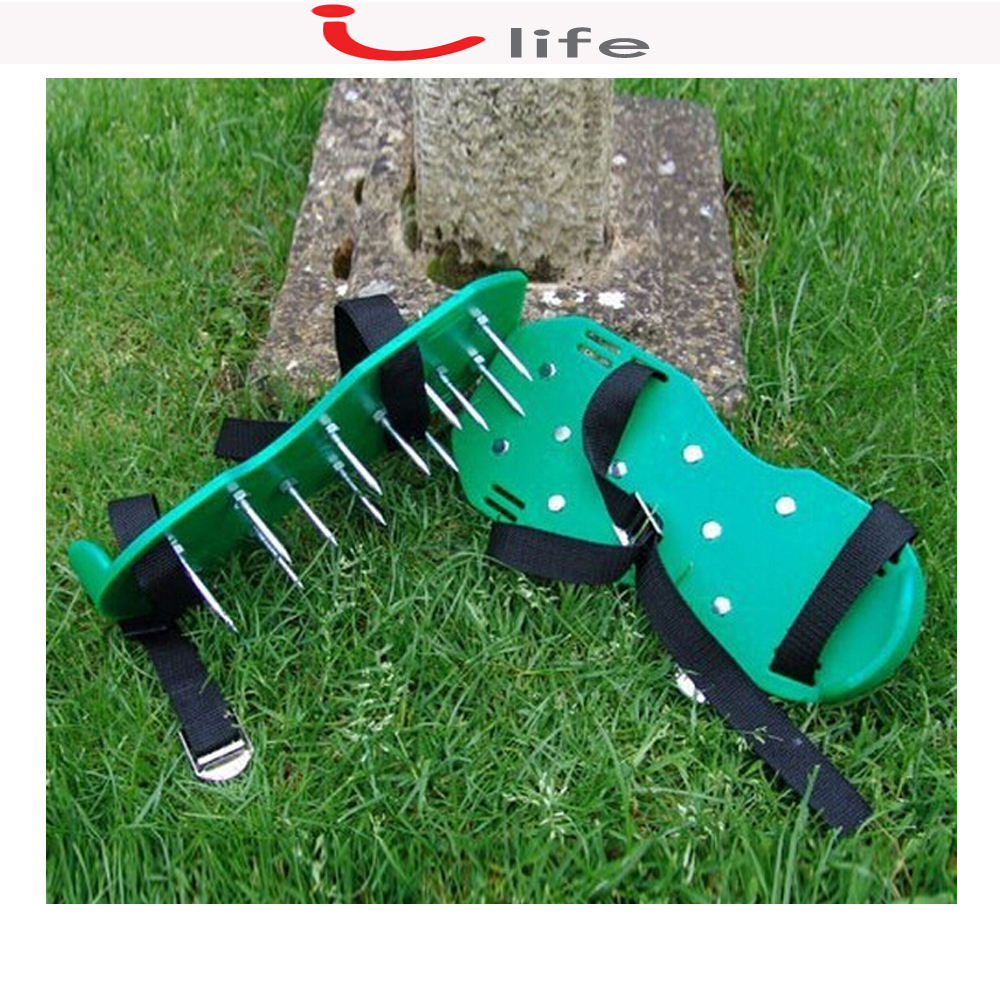 Grass Aerator Us 46 99 Professional Lawn Grass Spiked Spike Aerating Aerator Shoes Garden Tools Tine For Home And Garden 1 Pair In Garden Supplies From Home