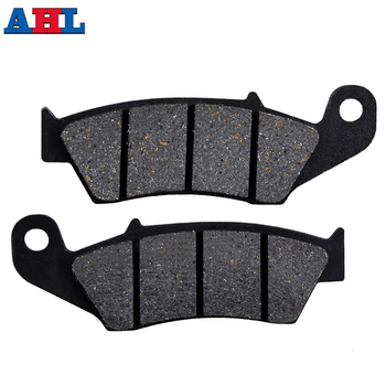 Motorcycle Front Brake Pads Discs For HONDA TRX250 RG XL250 XR600 RJ RK RL RM NX250 J K L ZL M P 2P Brake Disk image
