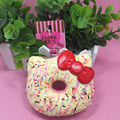 1pc 10cm original package hello kitty squishy rare Jumbo Donut cell phone Strap Charm cute squishies wholesales food  buns