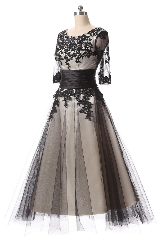 Gowns Cổ Quarter Prom 6