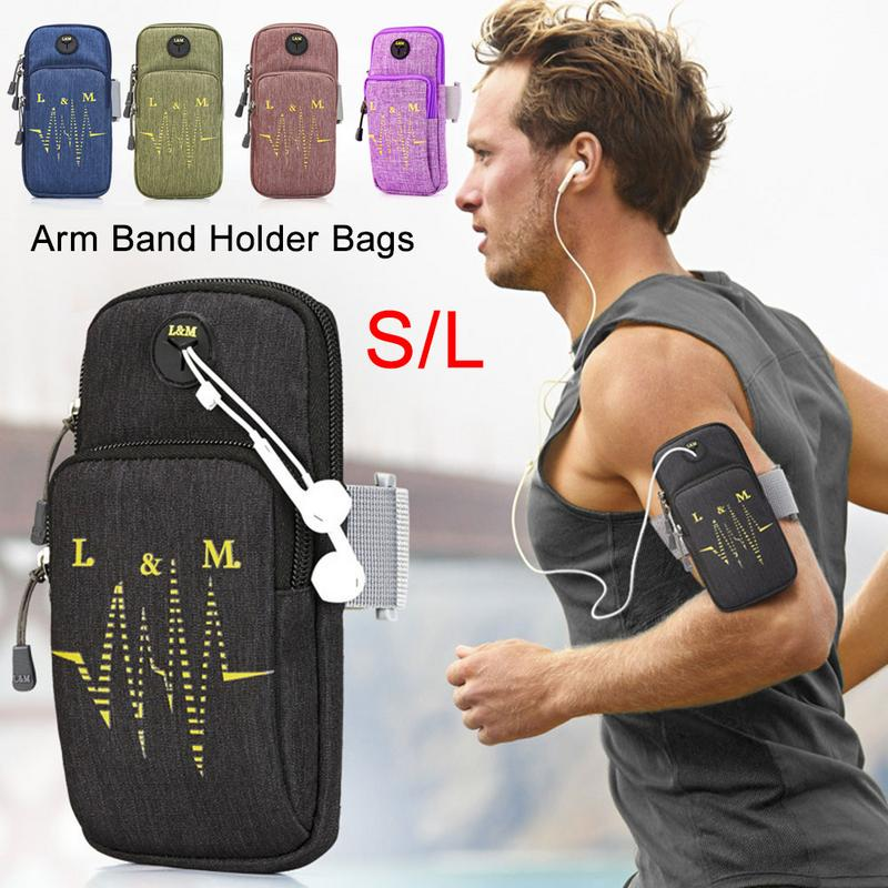 Sports & Entertainment Able Touch Screen Running Arm Bag Outdoor Sports Fitness Bag Waterproof Exercise Fitness Climbing Packet Riding Arm Bags At All Costs