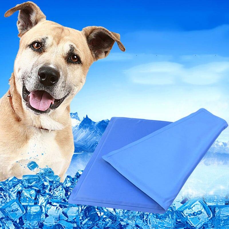 Dog Cooling Mat Pet Ice Pad Teddy Mattress Mat Small Large Cat Cushion Summer Keep Cool Bed Gel Pet Cooling Mat For Dogs XL XXL