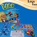 Juego de Tablero de fibra de Estirar La Verdad, La Nariz Puede Crecer, 2-4 Jugadores Incluye educación Familia novedad juguetes Divertidos para niños