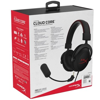 Kingston Original Gaming Headphones HyperX Cloud Core Computer Heandset With a Microphone For PC PS4 Xbox One Mobile Device 6