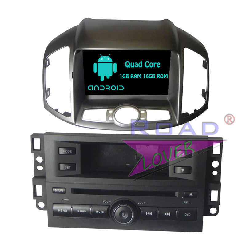 Roadloevr Android 6.0 2 Din Car Stereo DVD Player Automotive For Chevrolet Captiva 2006 Radio GPS Navigation 8 Inch Magnitol BT