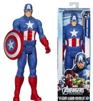 Marvel Avenger Super Hero Series Action Figures Captain America Spiderman Thor Hulk PVC Anime Dolls Party