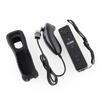 Gasky For Nintend Wii 2 in 1 Wireless GamePad Remote Controller built in Motion Plus Nunchuk Joystick Joypad Remote