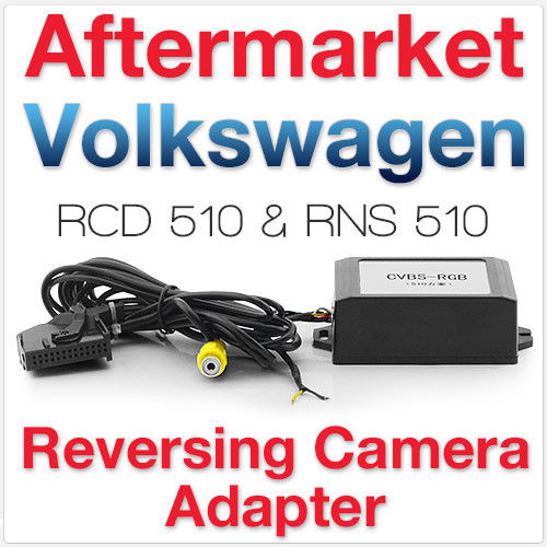 Bodenla V9.three Model For Vw Rns510 Rcd510 Rns315 Av Decoder Video Converter Field Rear View Digital camera Cvbs To Rgb