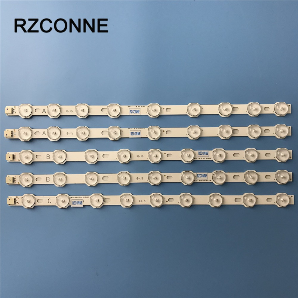LED Strip 40'' NDV REV1.0 VES390UNDC-01 VES400UNDS-02 VES400UNDC-01 For Philips 40PFL3008H/12 40PFL3008K/12 40PFL3018K/12
