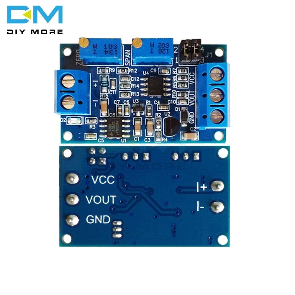 Модуль преобразования преобразователя тока в напряжение 0/4-20 мА до 0-3,3 В 5 в 10 в
