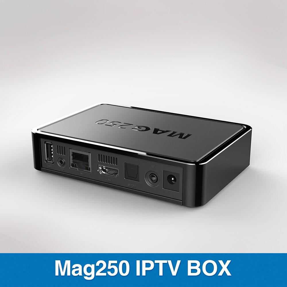 De Calidad superior CAJA del IPTV MAG 250 con más de 1100 Canales de TELEVISIÓN