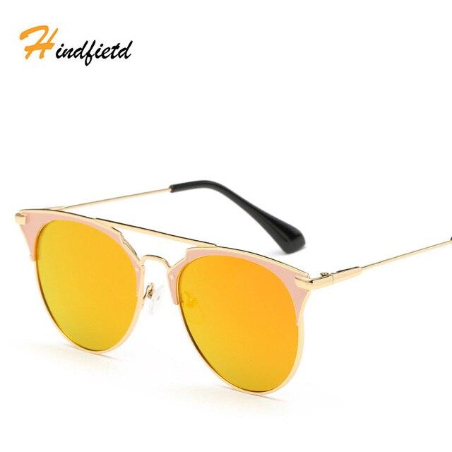 c08a964c7a3f Hot 2017 Newest Cat Eye Glasses Frame Women Brand Designer Twin-Beams Metal  Eyeglasses Frame