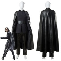 Adult Star Costume Wars 8 VIII The Last Jedi Kylo Ren Cosplay Costume Full Set Suit Cloak For Adult Men Halloween Carnival