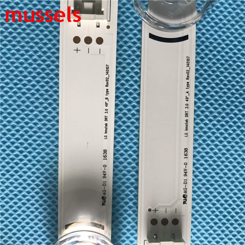 """Image 2 - LED Backlight strip For LG 49""""TV 49LB620V Innotek DRT 3.0 49LB552 49LB629V 6916l 1788A 6916l 1789A 49LF620V 49UF6430 6916L 1944A-in Industrial Computer & Accessories from Computer & Office"""