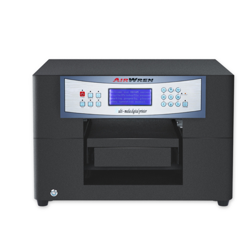 Controled By RIP Small A4 Eco Solvent Printer For Card Printing Machine