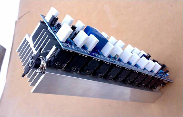 Hifi גדול כוח ואט ביתי באיכות גבוהה חום מקצועי שלב 11 זוג C5200 A1943 גדול ואט 1200 W צינור מונו מגבר לוח