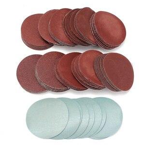 """Image 3 - 100 disques abrasifs, 3 """""""", 75mm, pour mélange abrasif, P80 P3000 tampons"""