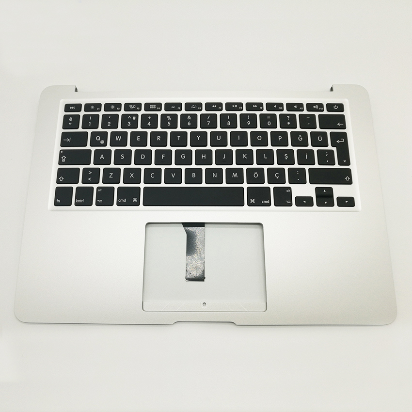 New For Macbook Air 13 Topcase Upper Top Case Palmrest with TR Turkey Keyboard A1466 2013 2014 2015 new for macbook air 13 topcase upper top case palmrest with tr turkey keyboard a1466 2013 2014 2015