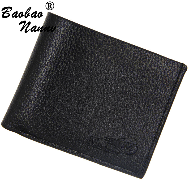 Soft Men Wallets 2019 New Short Style Coin Bag Clutch Money Purse Credit Card Holders For Male Vintage Purses Small Men Wallet