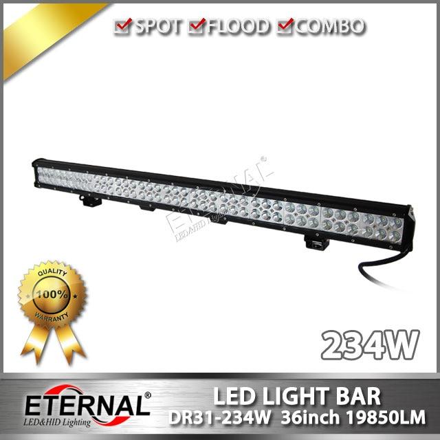 ФОТО wholesale-8pcs 234W LED light bar 4x4 off road ATV UTV SUV raptor F150 F250 Wrangler rubicon driving headlight