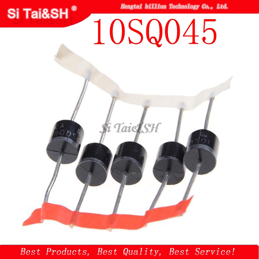 10PCS 10SQ045 10A 45V DIP Schottky  Special High  Schottky Diode For Solar Energy New Original