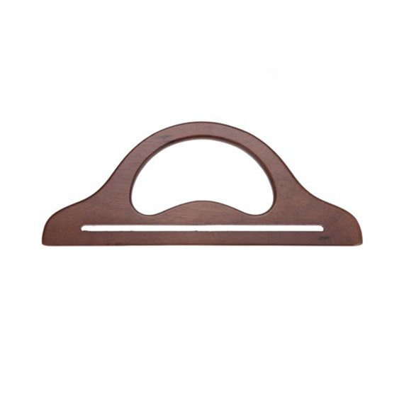 Free Shipping Wooden Bag Handle 13 3/4