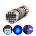 21 led UV Ultra Violet Flashlight Protable flash Torch Light Lamp mini portable ultraviolet linternas penlight linternas