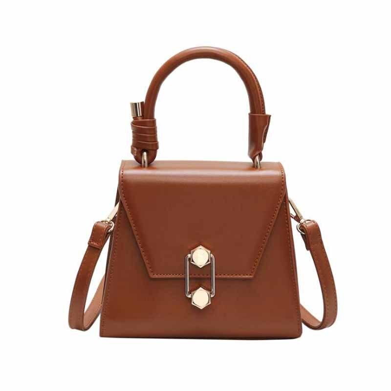 Сумки для женщин, Роскошная сумочка, женская брендовая дизайнерская сумка на плечо, повседневная сумка-тоут из искусственной кожи, сумки с двойной стрелкой, однотонная сумка