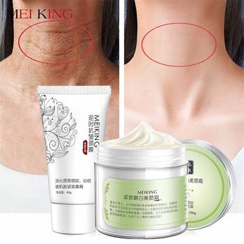 100g + 80g sześć peptydów krem na szyję przeciw zmarszczkom usunąć maska na szyję wybielanie ujędrniający dla maski na szyję skóry pielęgnacja delikatne i śliskie tanie i dobre opinie NECK Neck cream CHINA GZZZ MeiYanQiong