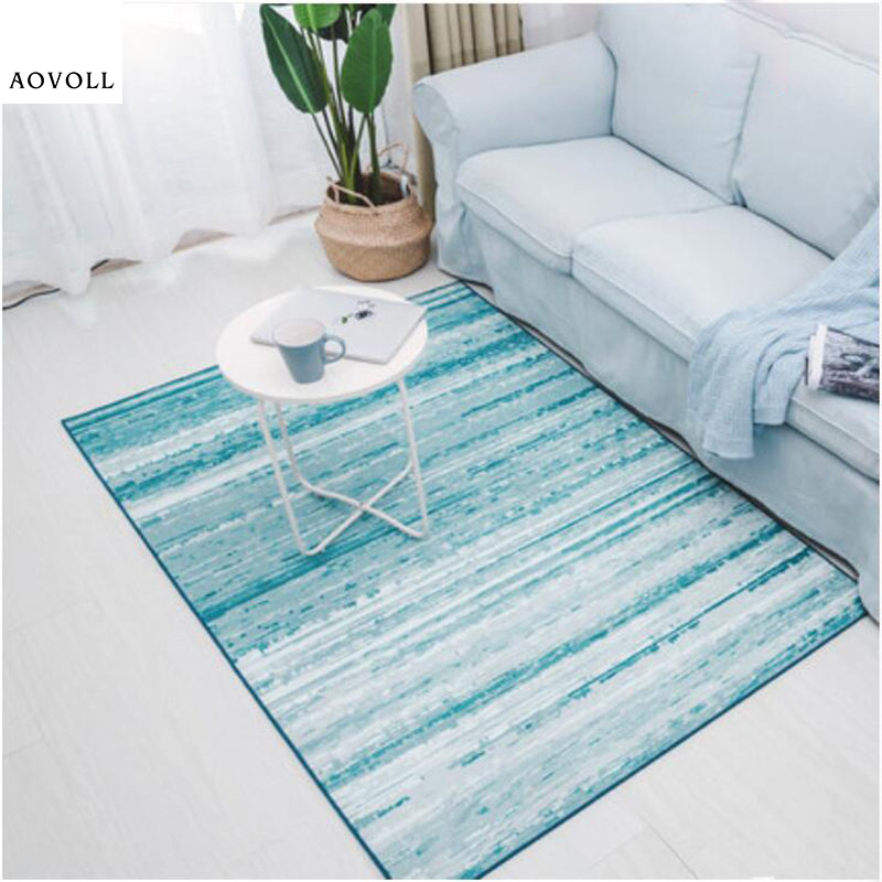 AOVOLL Soft Simple Nordic Style Carpets For Living Room Bedroom Kid Room Rugs Home Carpet Floor Door Mat Large Fashion Area Rug