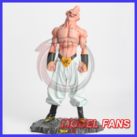 MODEL FANS IN STOCK Dragon Ball Z 29cm evil Majin gk resin action figure toy for Collection