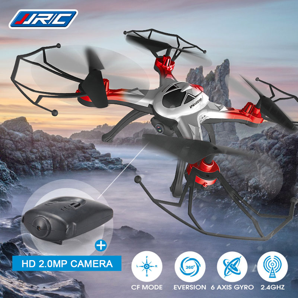 JJRC H29C 2.4GHz One Key Automatic Return 6-axis Gyro 2.0MP CAM RC Quadcopter