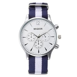 Splendid dropship migeer brand luxury fashion canvas strap watch men quartz watch casual males sport business.jpg 250x250