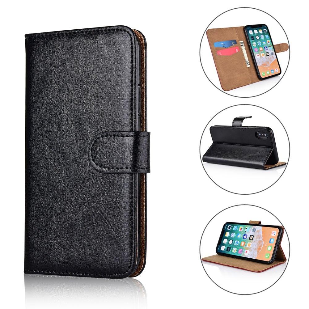 100% Kwaliteit Voor Vertex Impress Klik Case Cover Kickstand Flip Leather Wallet Case Met Card Pocket Reputatie Eerst
