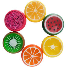 Fruit Slime Toy Magnetic Polymer Clay Color Crystal Slime Mud Transparent for Kids Intelligent Hand Plasticine Mud Playdough(China)