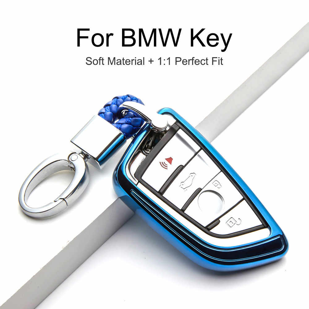 KUKAKEY TPU مفتاح غطاء حماية حالة ل BMW 1 2 5 7 سلسلة 218i X1 F48 X3 X4 X5 X6 f15 540 740 السيارات مفتاح قذيفة حقيبة سيارة التصميم
