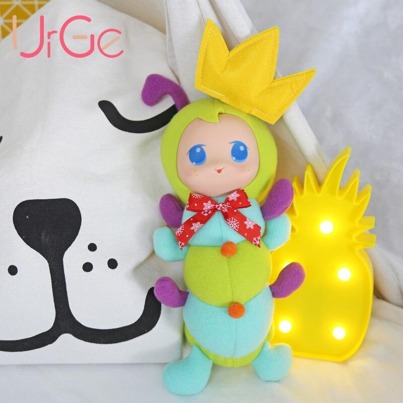 2017 Горячие продажи kawaii игрушки Зеленый мягкие игрушки куклы силиконовые реборн кукл ...